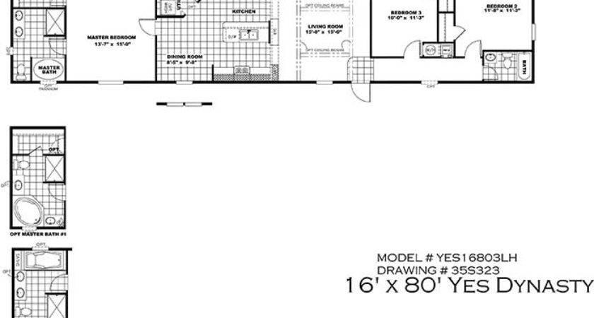 Champion Mobile Home Floor Plans Trend Design