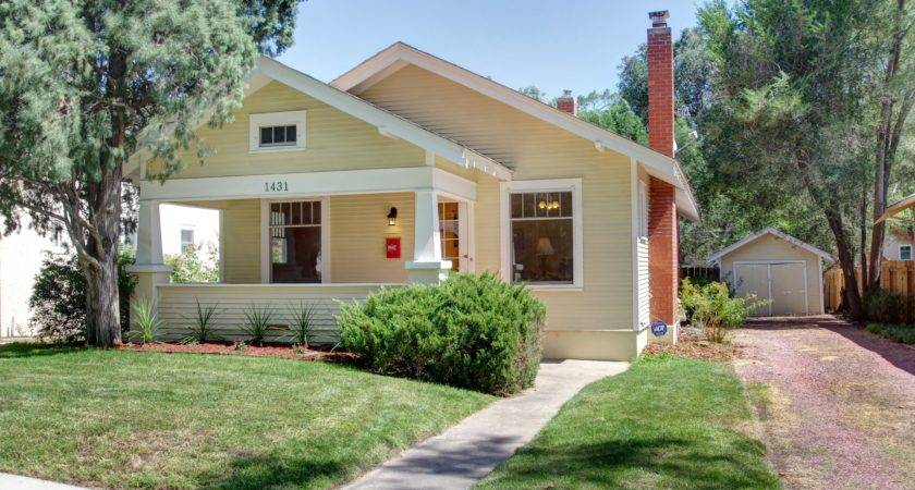 Charming Downtown Bungalow Home Rent Colorado Springs