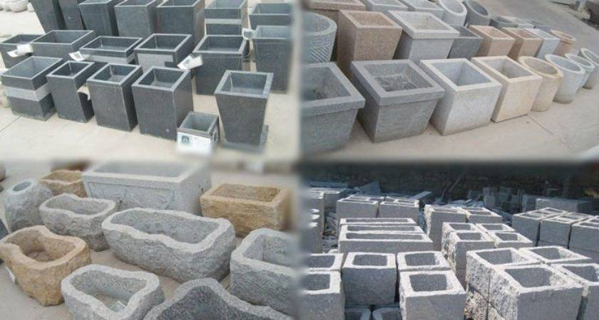 Cheap Stone Garden Pots Wholesale Cstone