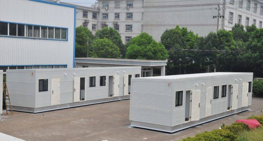 China Mobile Modern Modular Homes Prefabricated White One Layer
