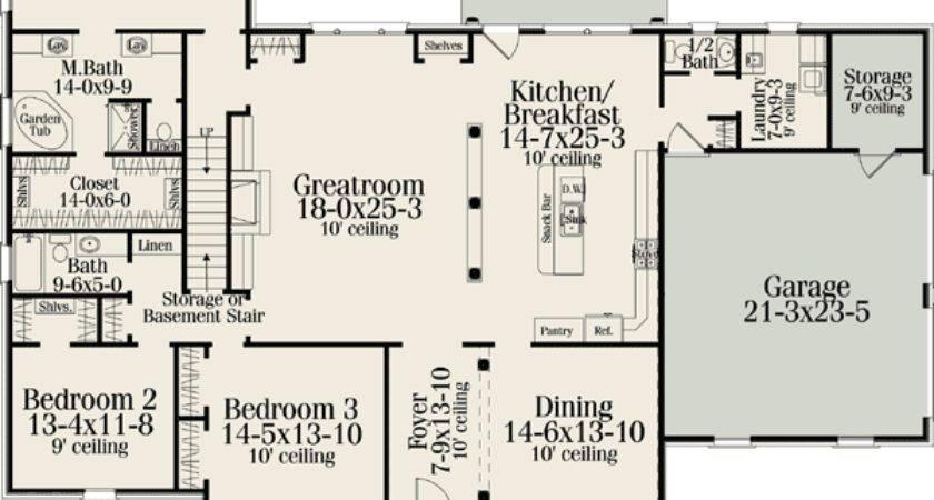 Classic American Home Plan Floor Master