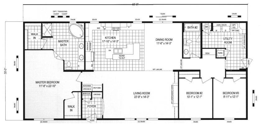 Clayton Homes Floor Plans Mobile Home