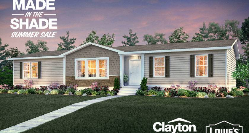 Clayton Homes Offers New Homebuyers Lowe Gift Cards Outdoor
