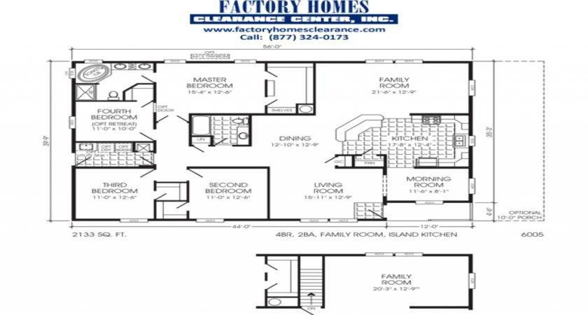 Clayton Triple Wide Mobile Homes Home