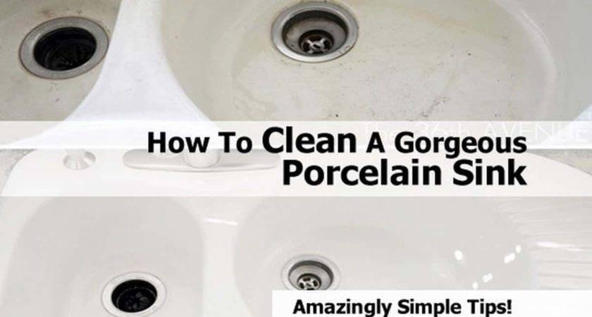 Clean Gorgeous Porcelain Sink