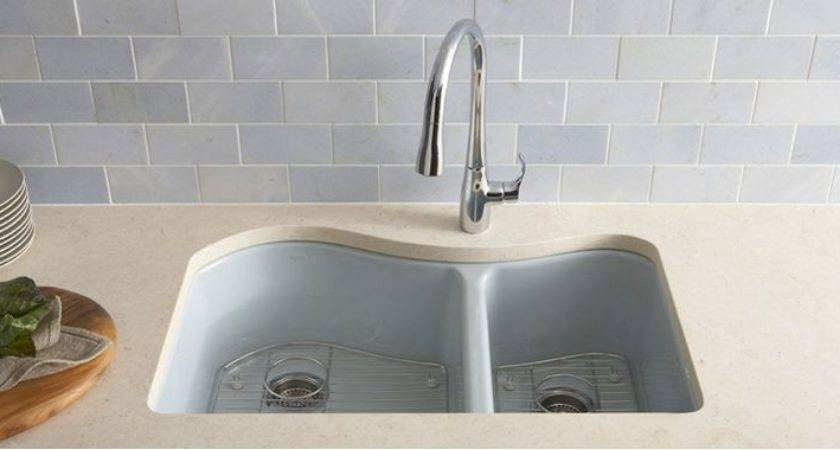 Clean New Cast Iron Sink