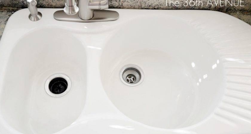 Clean Porcelain Sink Instructions