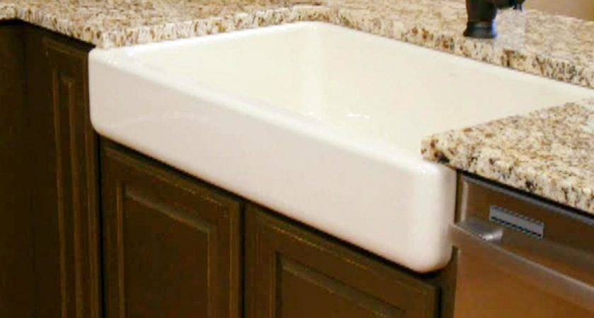 Cleaning Antique Cast Iron Farmhouse Sink Homy Design