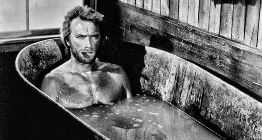 Clint Eastwood Nut But Love Him Especially Bath Tub