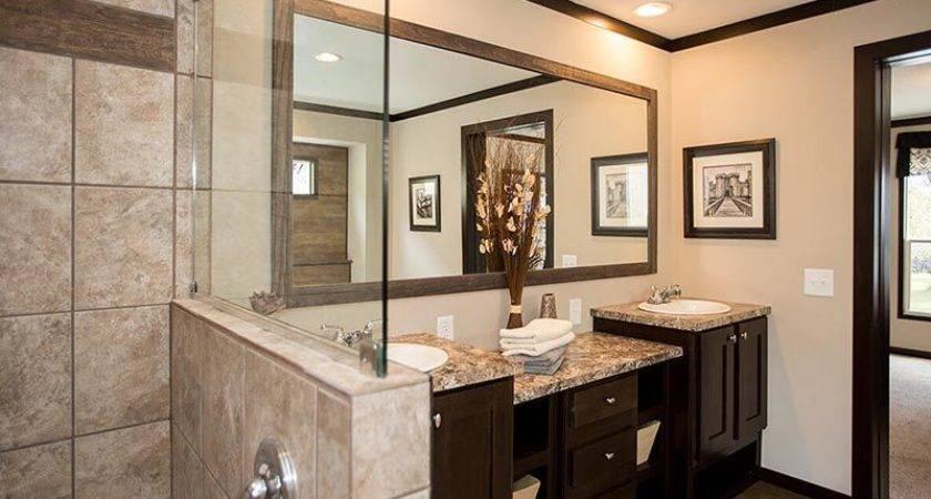 Cmh Patriot Pat Mobile Home Master Bathroom Shower Double