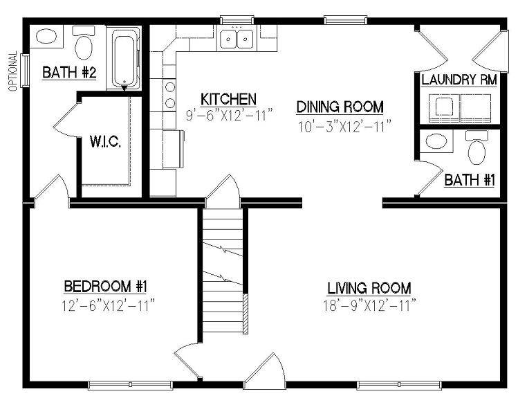Cod Modular Homes Floor Plans Open Plan