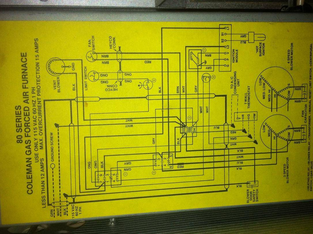 Coleman Mobile Home Furnace Diagram Devdas Angers