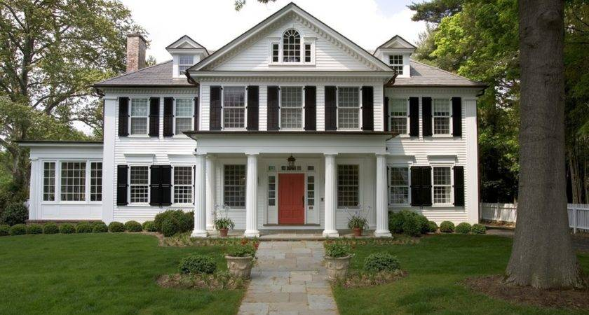 Colonial Design Style Started Original New England Colonies