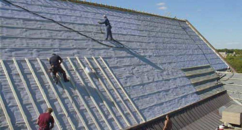 Commercial Industrial Spray Foam Projects Urecoat Inc