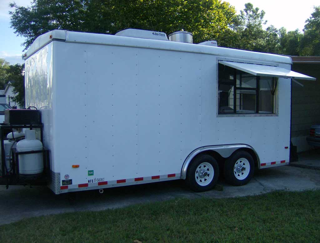 Concession Trailer Used Sale Florida