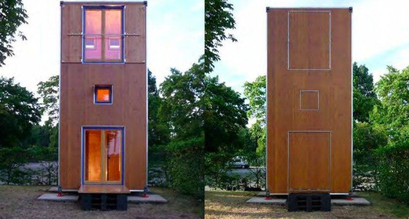 Container Inspired Homebox Tiny Movable Story Vertical Home