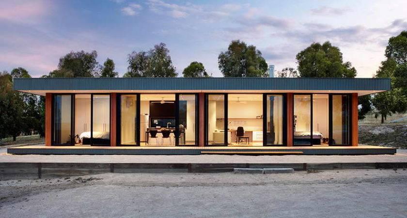 Contemporary Modular Homes Glass Walls