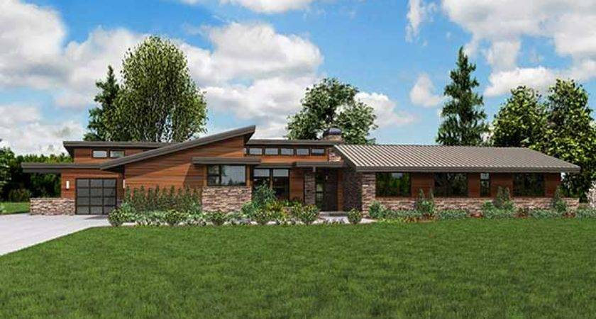 Contemporary Ranch House Plans Smalltowndjs