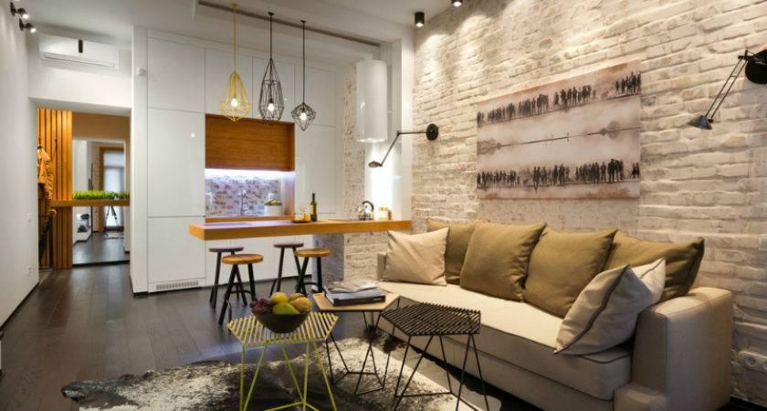 Contemporary Square Meter Feet Apartment Decoholic