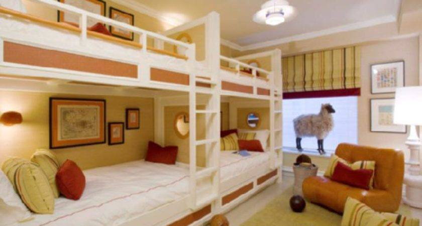 Cool Bunk Bed Designs Three Four Children Beds Kids