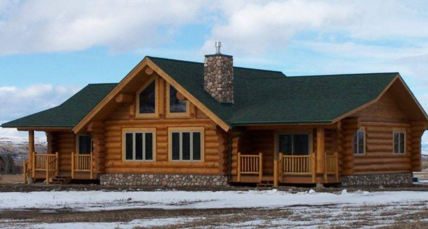 Cool January Log Homes Photos Cabin Double Wide