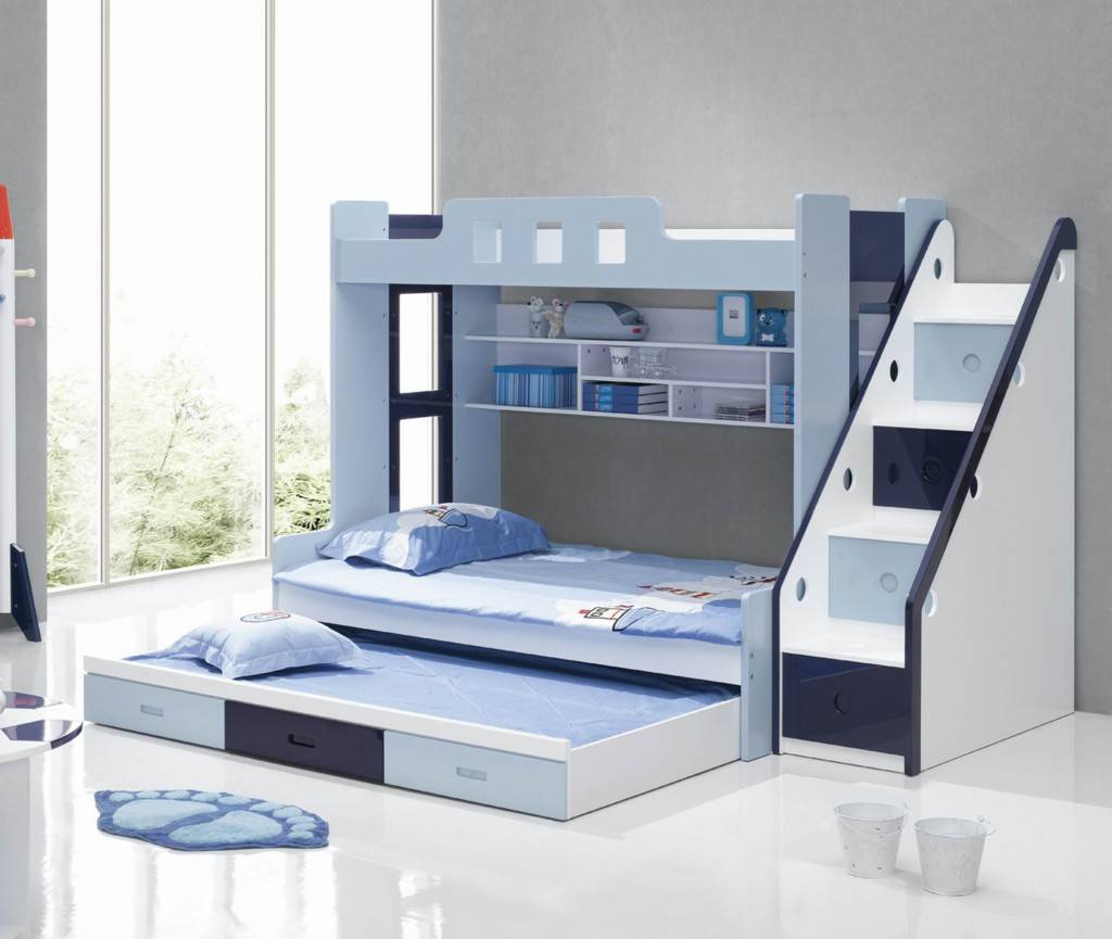 Cool Modern Children Bunk Beds Kids Baby