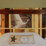Cool Modern Rustic Diy Bed Headboards Furniture Home Design Ideas
