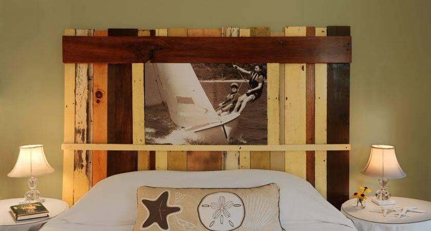 Cool Modern Rustic Diy Bed Headboards Furniture Home Design Ideas