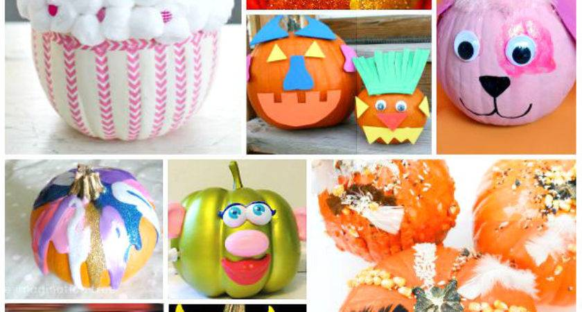 Cool Pumpkin Decorating Ideas Kids Artsy Momma