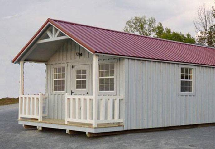 Country Cabin Small Pre Built Log Dickson Nashville
