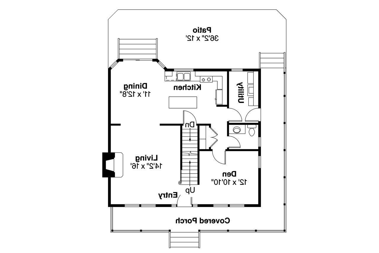 Country House Plan Green Acres Floor