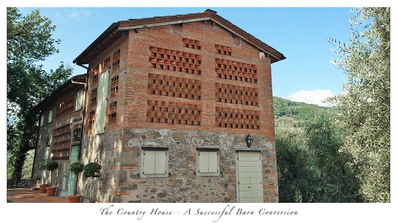 Country House Sale Near Lucca Successful Barn Conversion