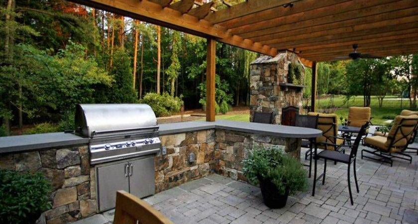 Covered Outdoor Living Space Spaces