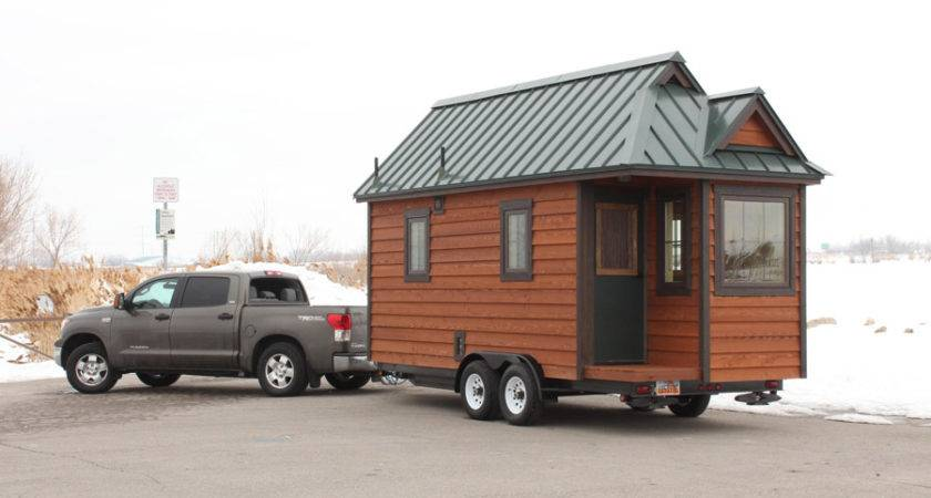 Cozy Square Foot Tiny House Trailer
