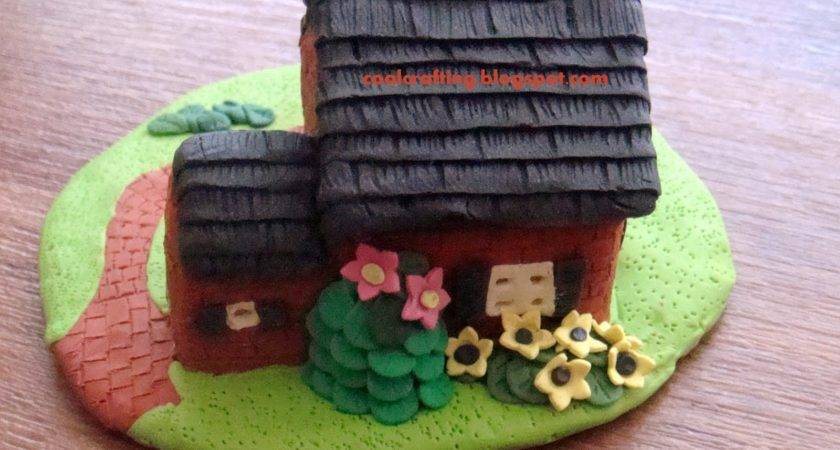 Craft Polymer Clay House