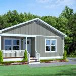 Craftsman Bungalow Modular Home Floor Plan