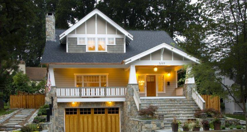 Craftsman Style House Plans Anatomy Exterior