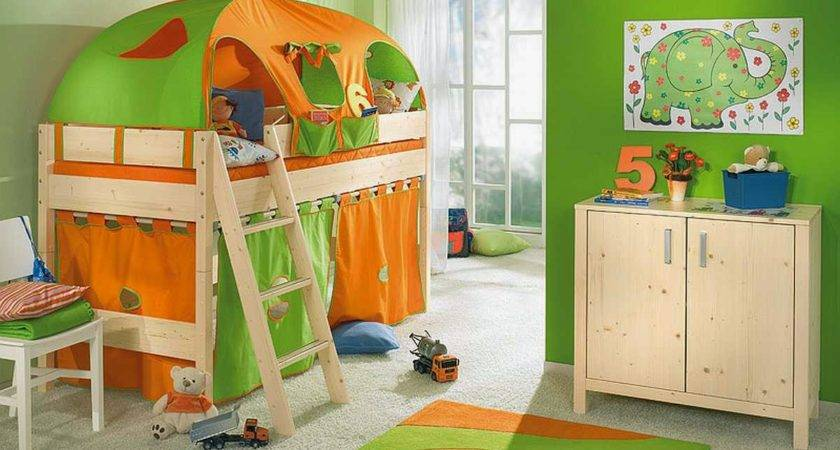 Creative Small Space Kids Room Design Awesome Bunk Bed