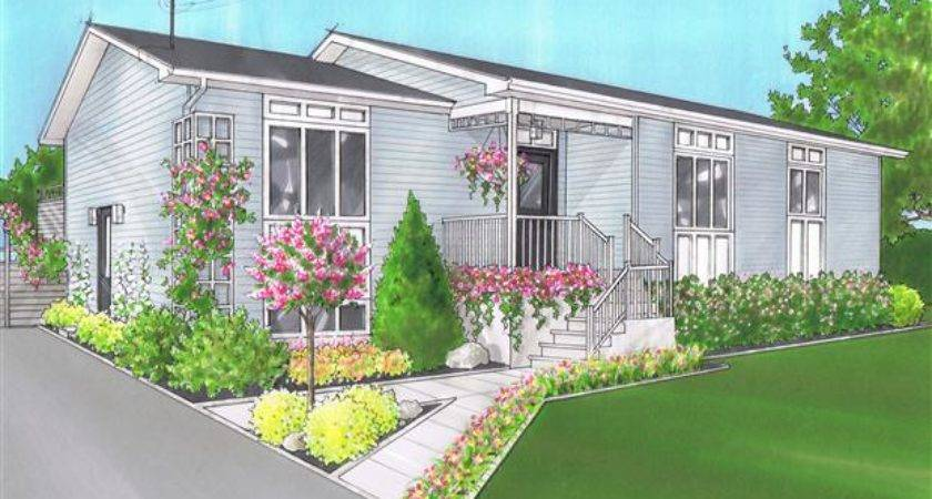Curb Appeal Chilly Looking Home Gets Visually Warmer