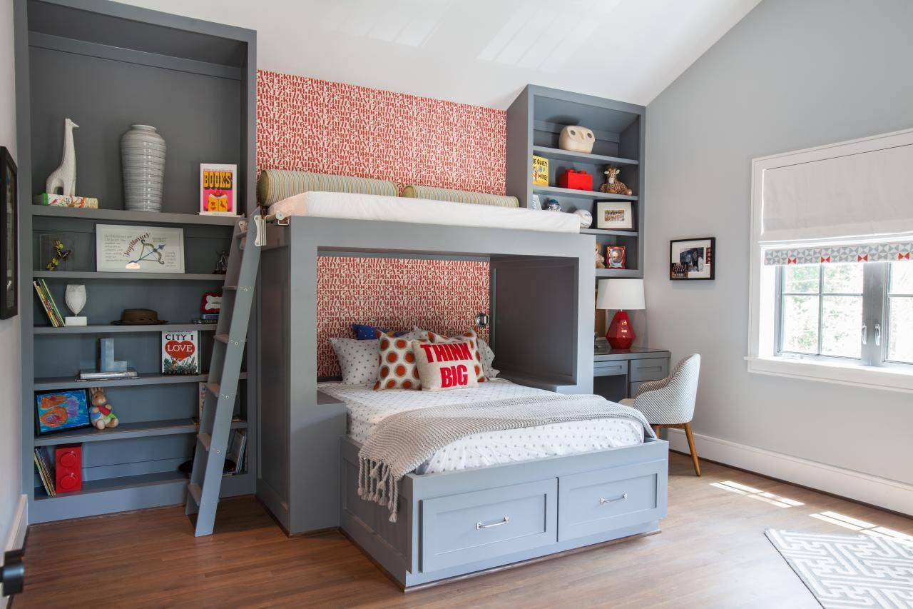 Custom Boys Bunk Bed Fresh Faces Design Hgtv