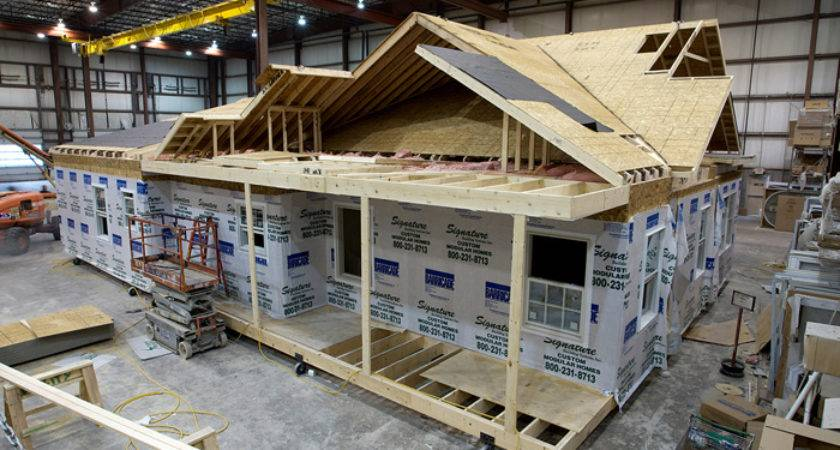 Custom Built Home Manufactured Charlie Croce Construction