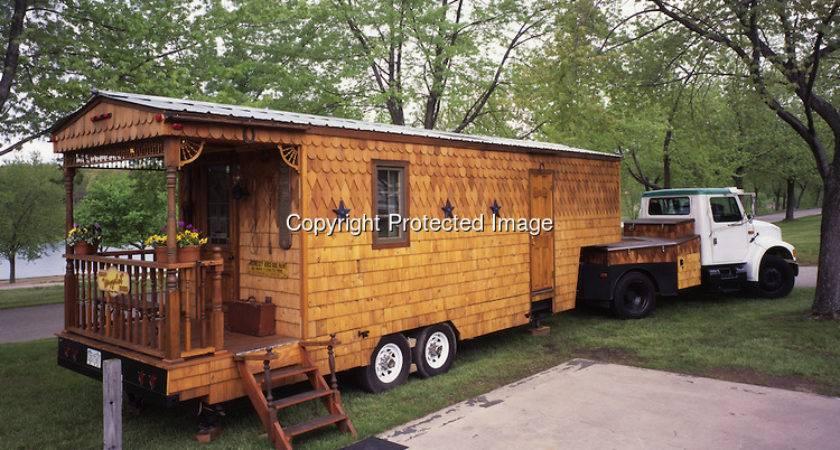 Custom Built Rolling Home Travel Trailer Called Wayzalot