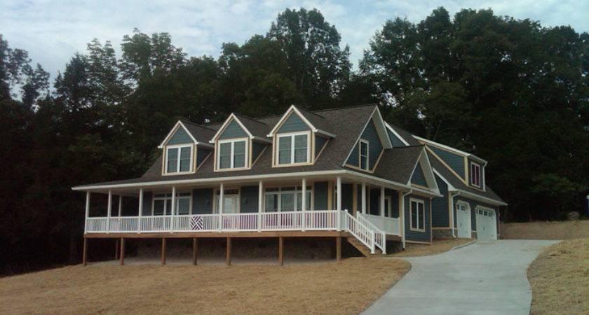 Custom Cape Cod Style Modular Home Norris Lake Homes