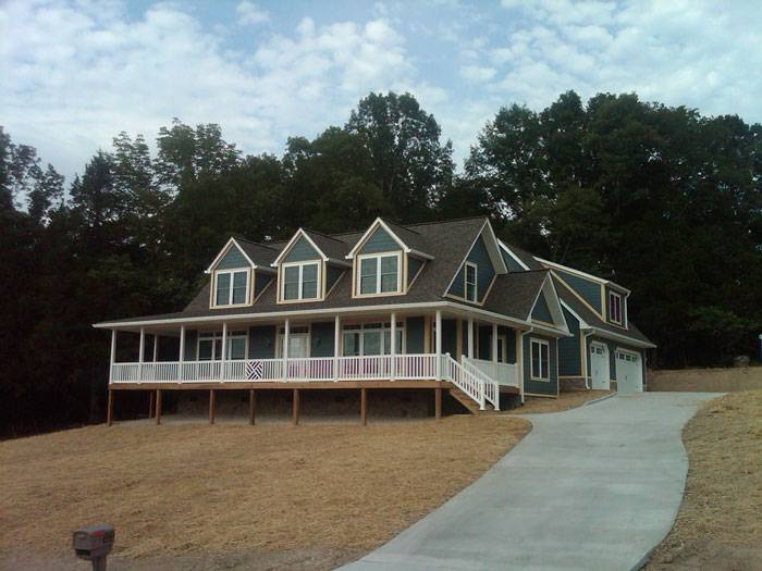 Custom Cape Cod Style Modular Home Norris Lake Homes
