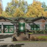 Custom Craftsman Style Prefab Home Plan Bedroom Bath Flickr