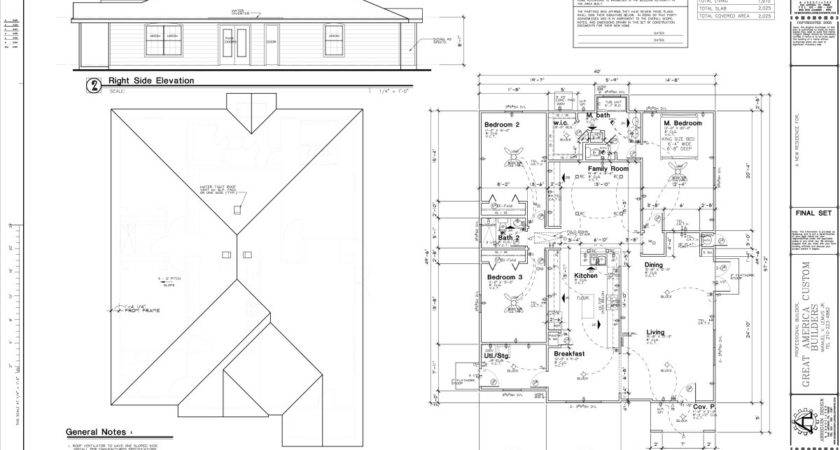 Custom Home Construction Plans Find House
