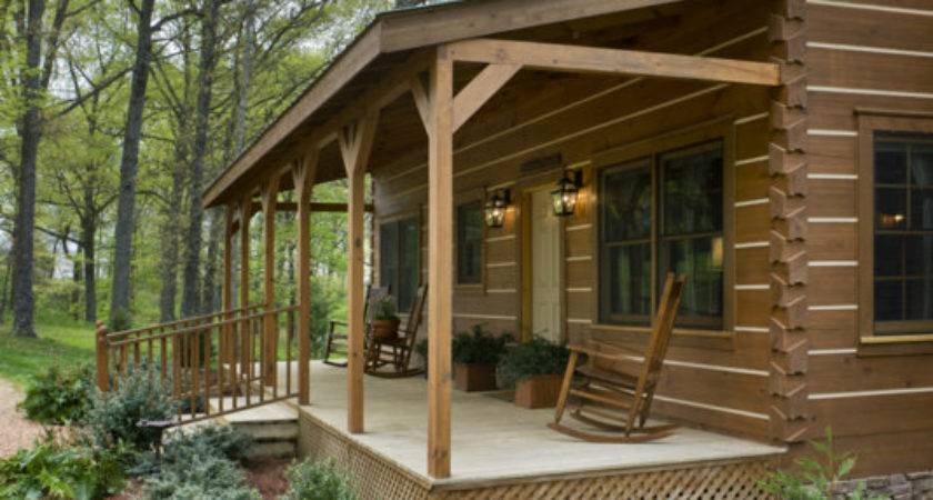 Custom Honest Abe Log Cabin Captures Spirit Pioneers