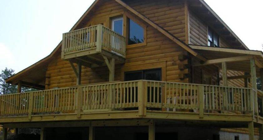 Custom Log Modular Homes Sale Berkeley Springs West Virginia
