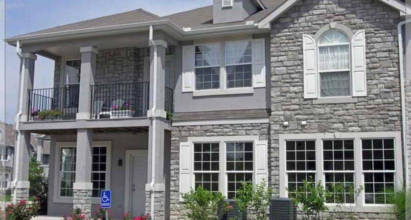 Dark Exterior House Colors Modern Art Home Design