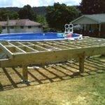 Deck Blocks Ground Level Floating Thread